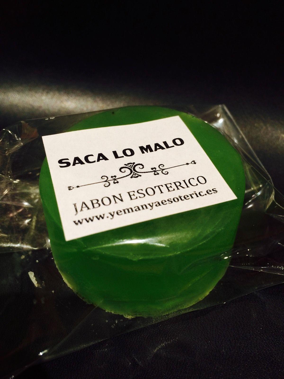"JABON ESOTERICO ""SACA LO MALO"""