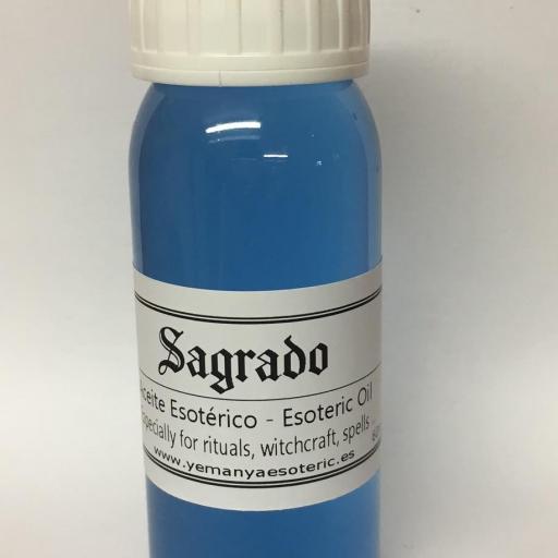 """ACEITE ESOTERICO """"SAGRADO"""" 60 ml"""