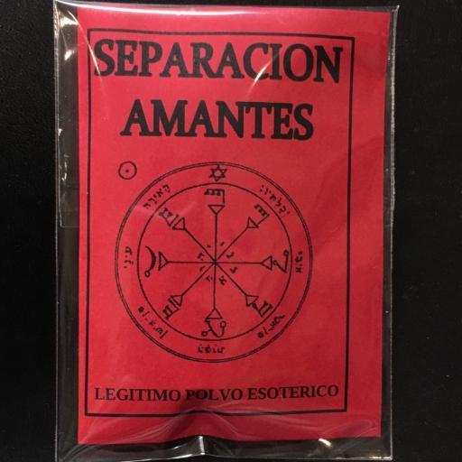 LEGITIMO POLVO ESOTERICO ☆ SEPARACION AMANTES ☆
