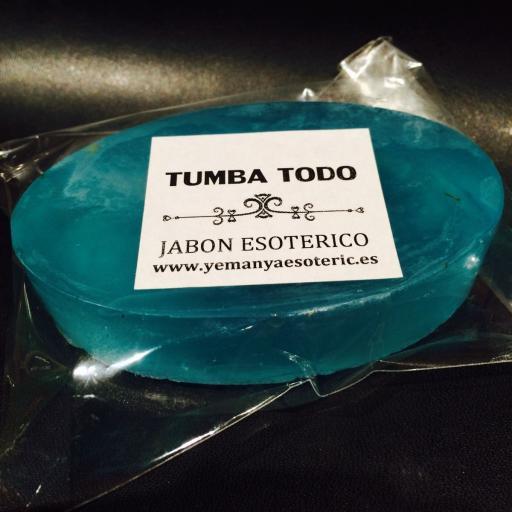 "JABON ESOTERICO "" TUMBA TODO """