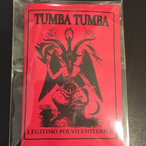 ☆ TUMBA TUMBA ☆ LEGITIMO POLVO ESOTERICO