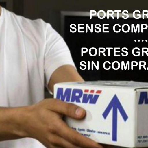 PORTES GRATUITOS!