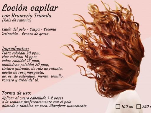 LOCIÓN CAPILAR (caída del pelo, irritación, ezcema, exceso de grasa...). 100ml [1]