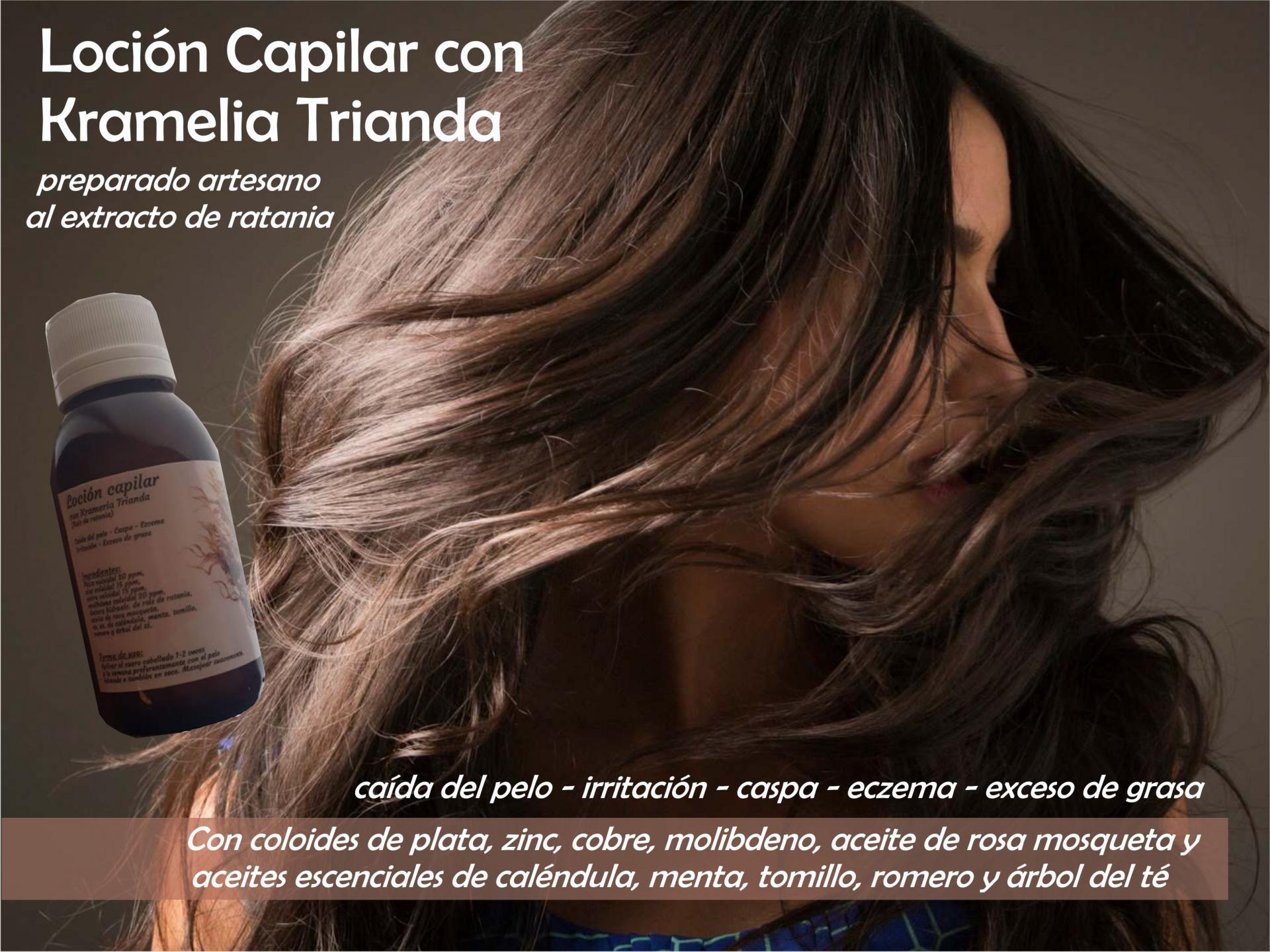 LOCIÓN CAPILAR (caída del pelo, irritación, ezcema, exceso de grasa...). 100ml