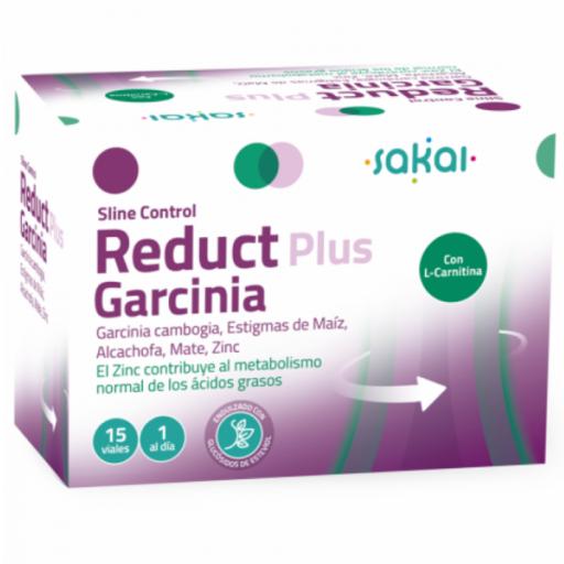 REDUCT PLUS GARCINIA (SLINE CONTROL), 15 VIALES. SAKAI