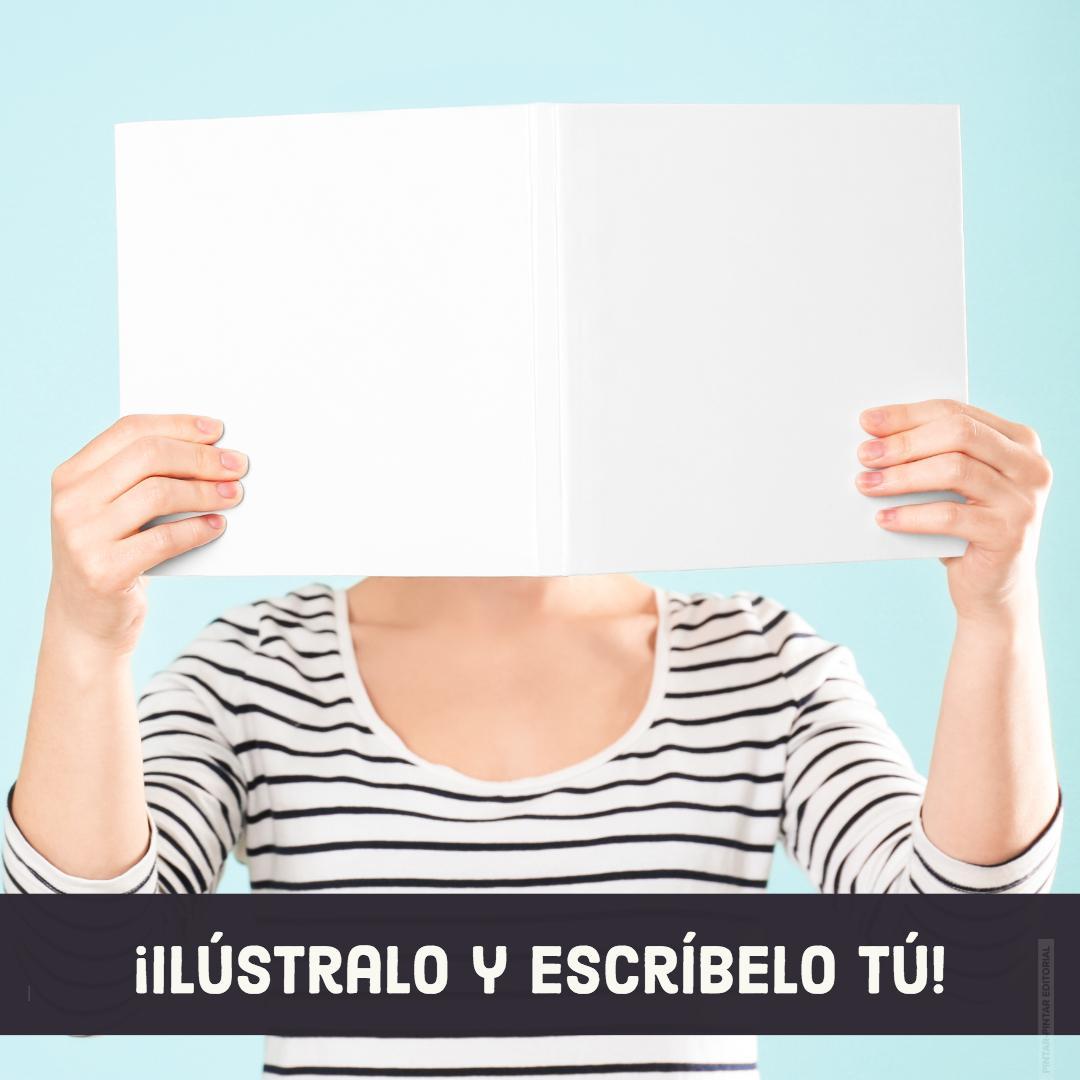 Libro en blanco - ¡ilústralo y escríbelo tú!