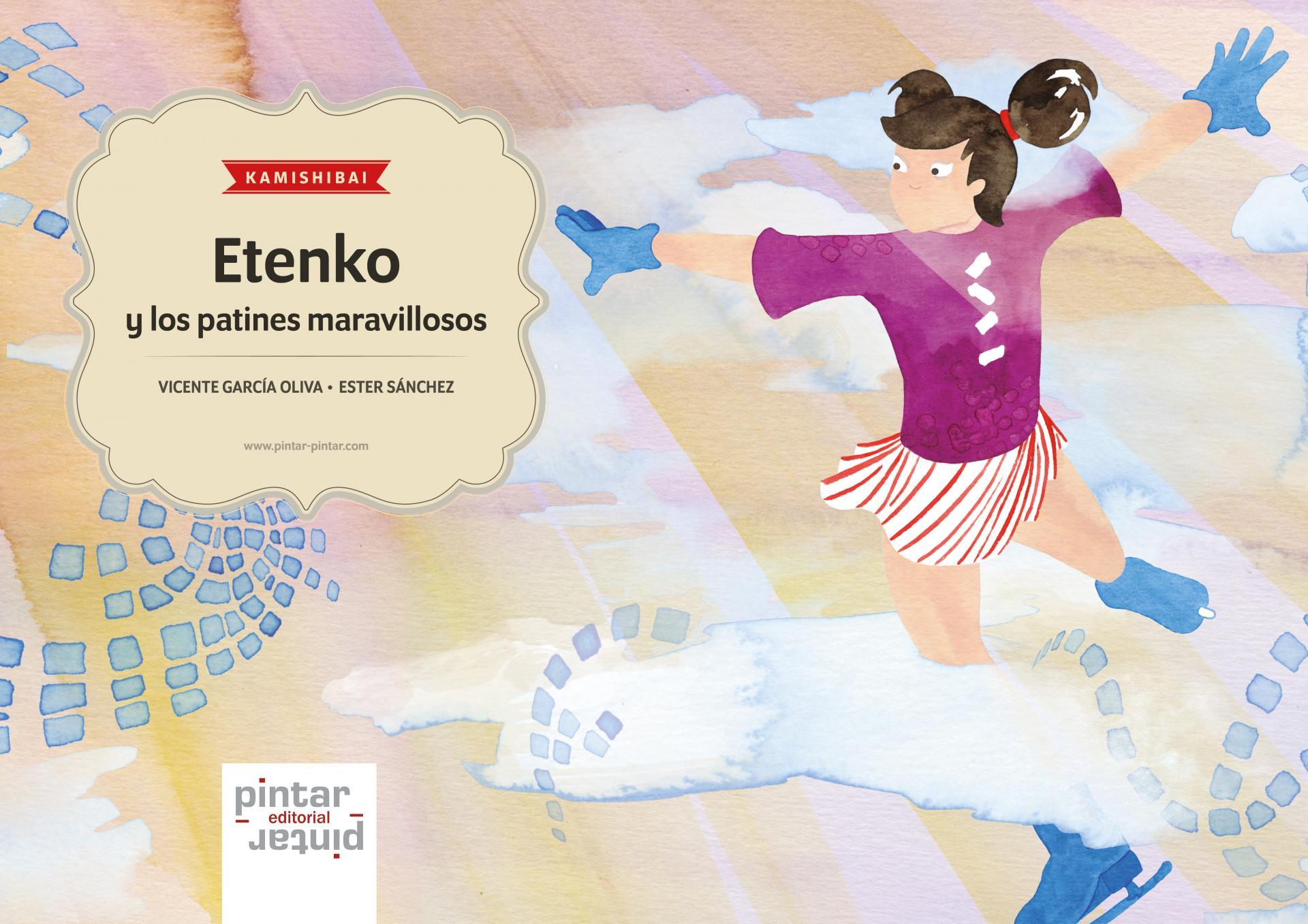 Etenko y los patines maravillosos - KAMISHIBAI (láminas A3)