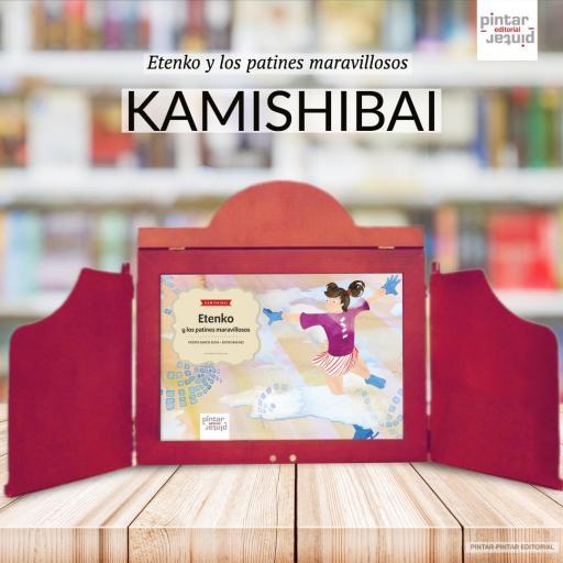 Etenko y los patines maravillosos - KAMISHIBAI (láminas A3) [2]