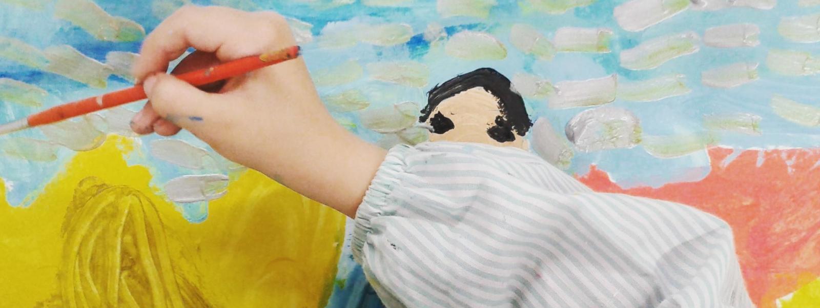 Exposición de arte infantil en Noreña