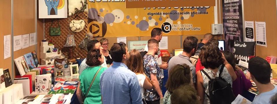 Llibros Pintar-Pintar Editorial na Feria de Muestres d'Asturies (FIDMA).