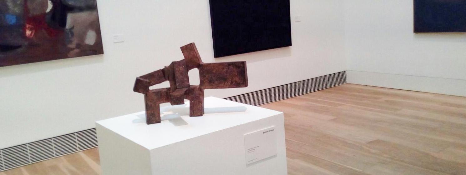 Chillida: poesía en el espacio - Taller en familia en el Museo de Bellas Artes de Asturias