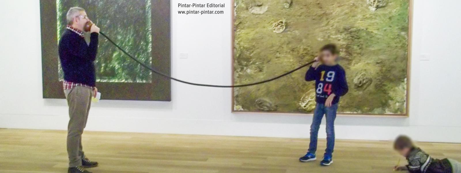 Talleres Pintar-Pintar para esta Semana Santa en el Museo de Bellas Artes de Asturias y en el Centro Niemeyer