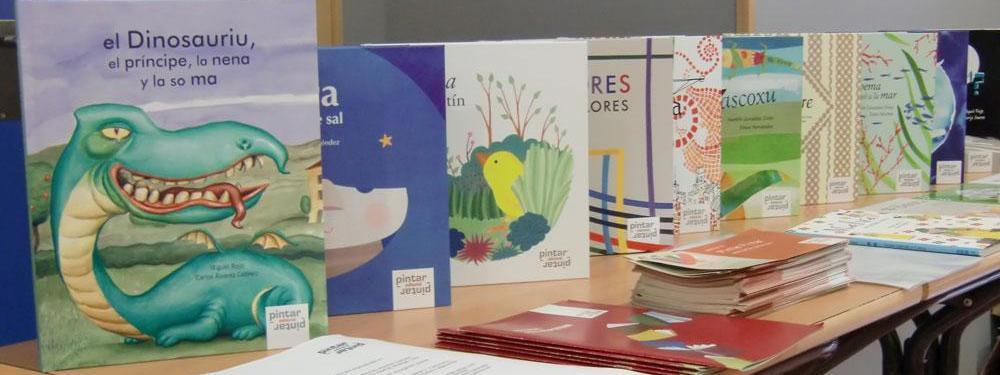 Pintar-Pintar na V Feria del Llibru y Discu n'asturianu