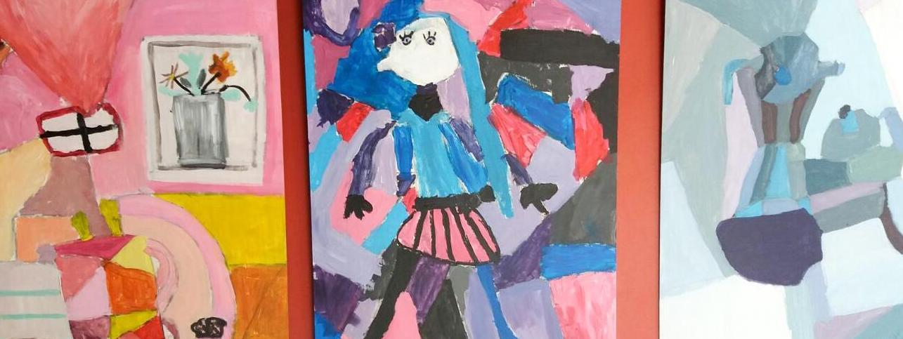 Cubismos. El movimiento cubista interpretado por los niños y niñas de Noreña