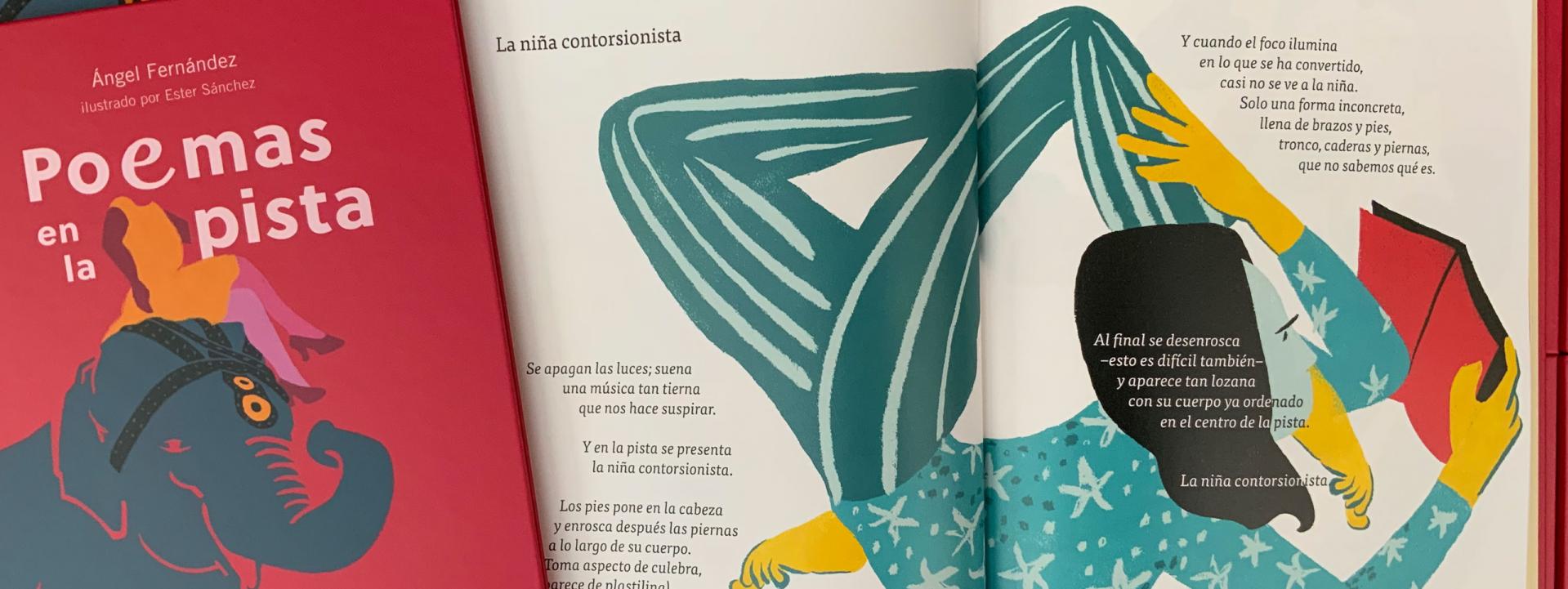 «Poemas en la pista» de Ángel Fernández y Ester Sánchez