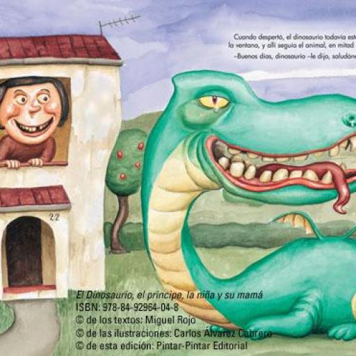 El dinosaurio, el príncipe, la niña y su mamá [3]
