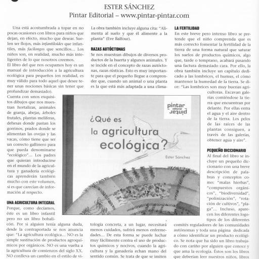 ¿Qué es la agricultura ecológica? [3]