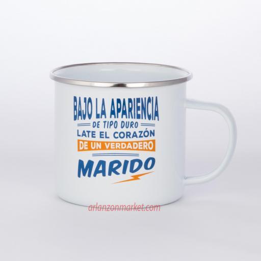 Taza vintage MARIDO