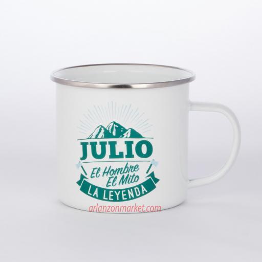 Taza vintage JULIO