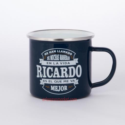 Taza vintage RICARDO