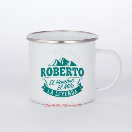 Taza vintage ROBERTO