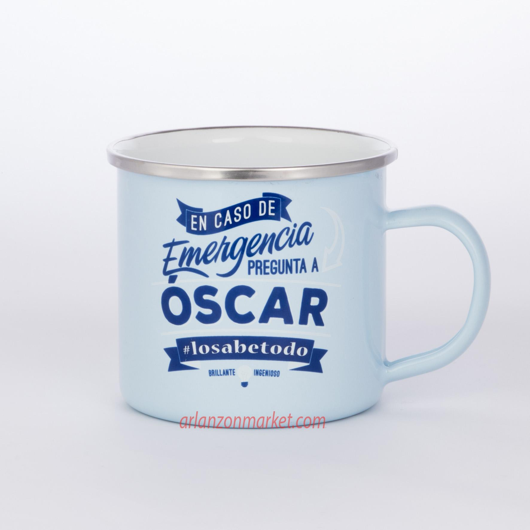 Taza vintage OSCAR
