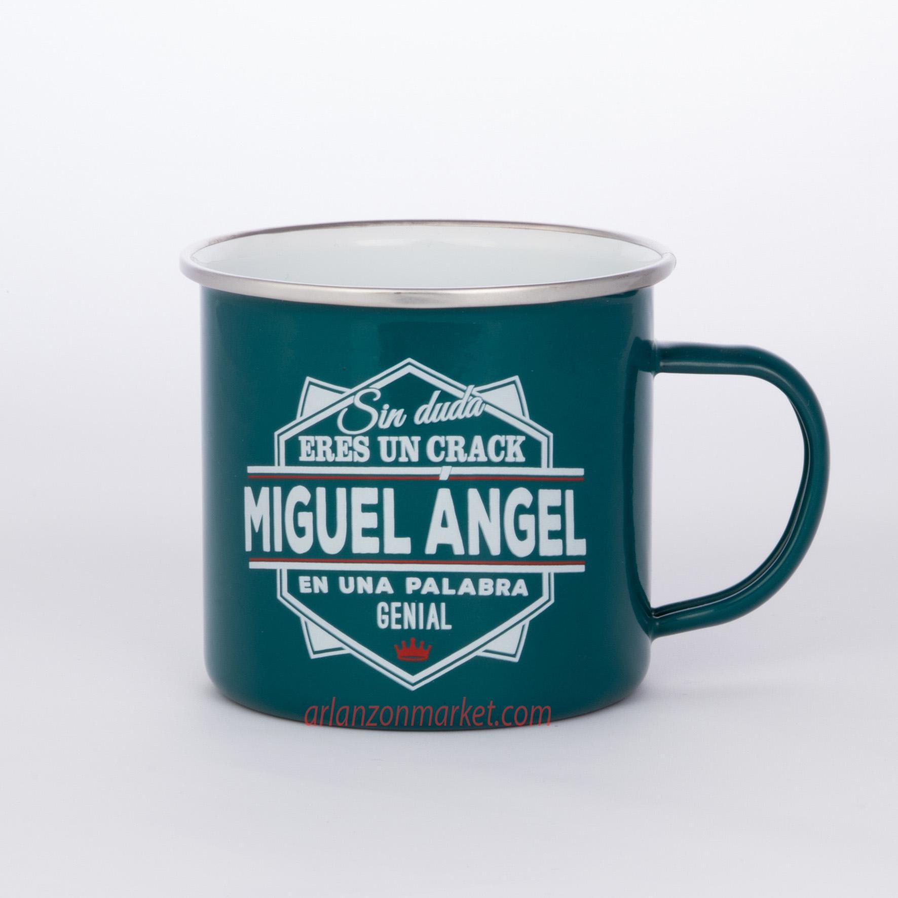 Taza vintage MIGUEL ANGEL