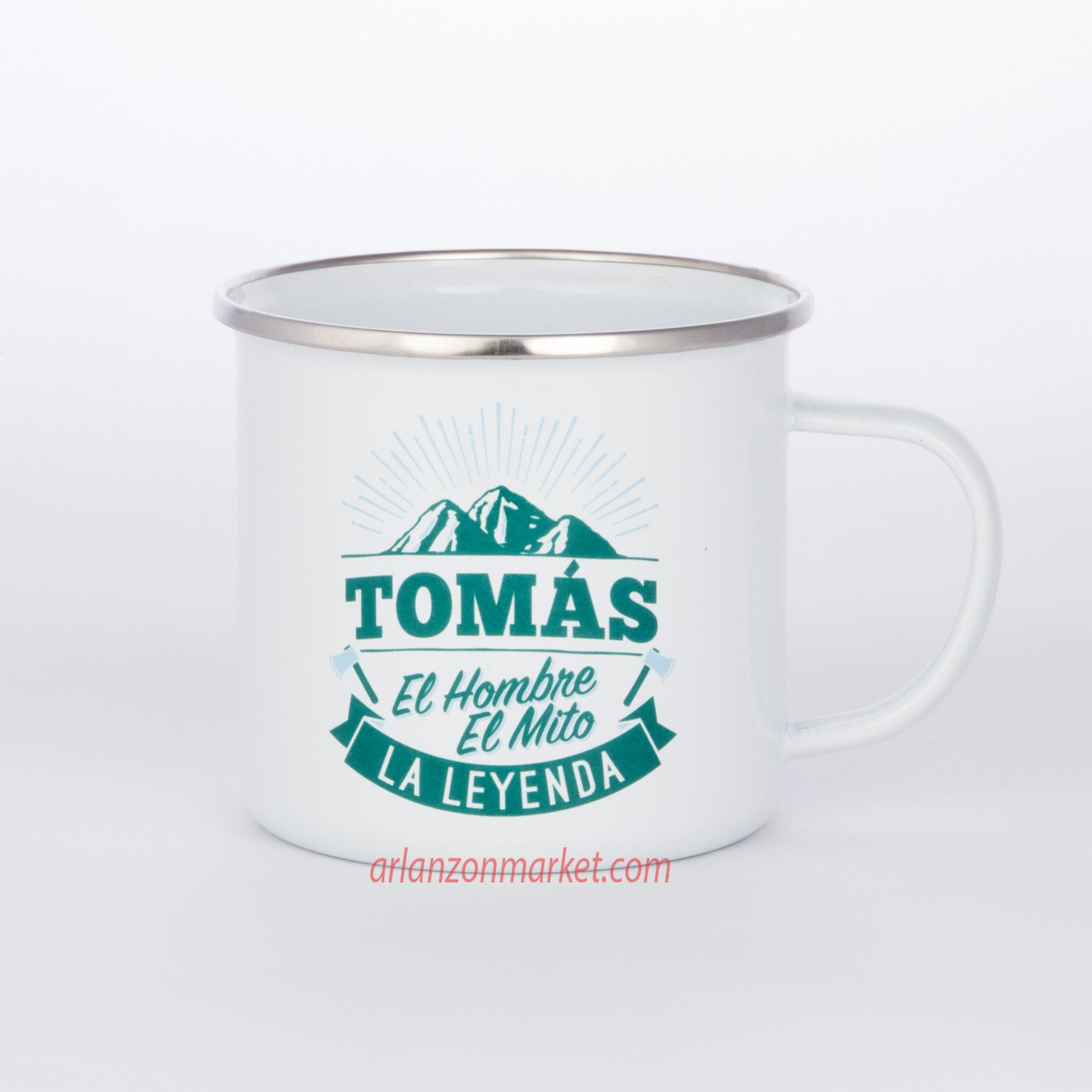 Taza vintage TOMAS