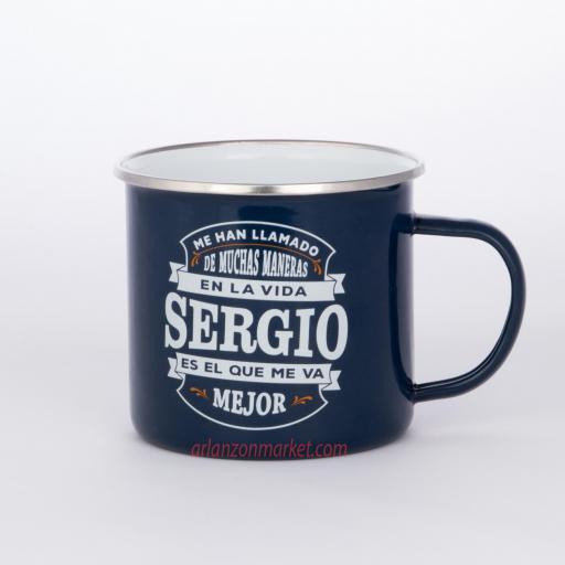 Taza vintage SERGIO