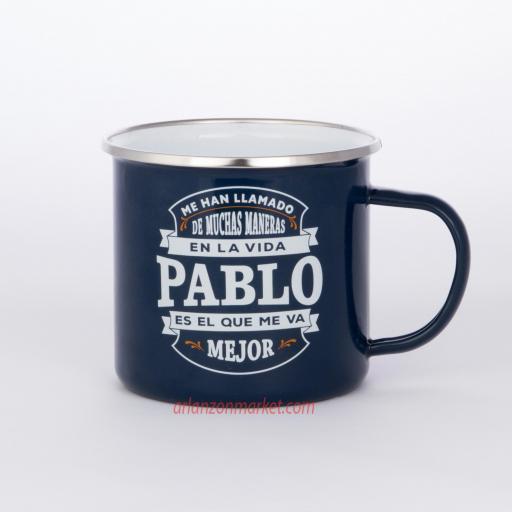 Taza vintage PABLO