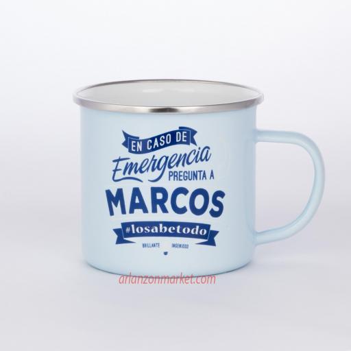 Taza vintage MARCOS
