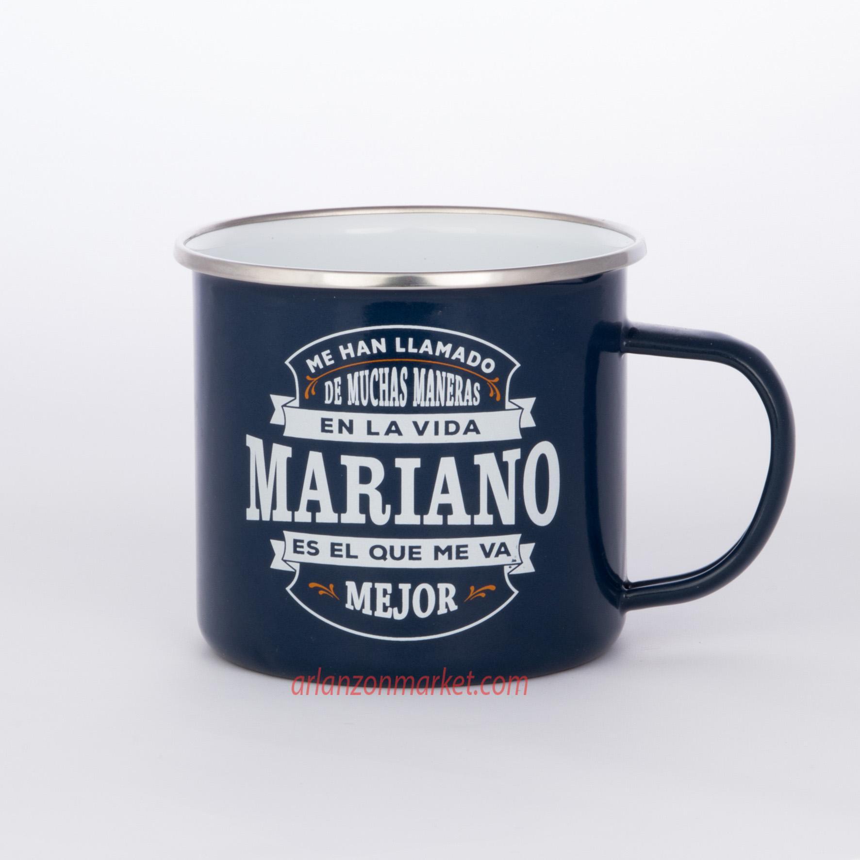 Taza vintage MARIANO