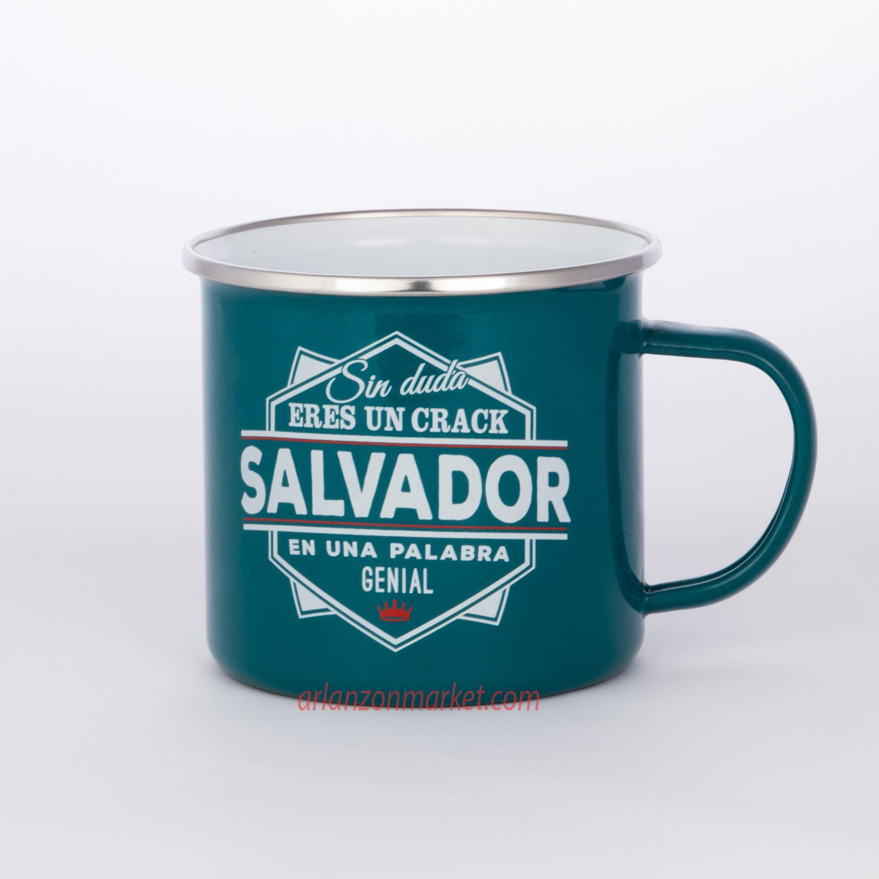 Taza vintage SALVADOR