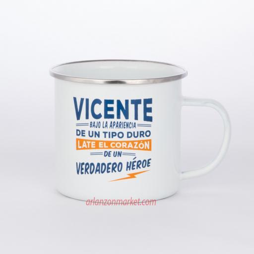 Taza vintage VICENTE