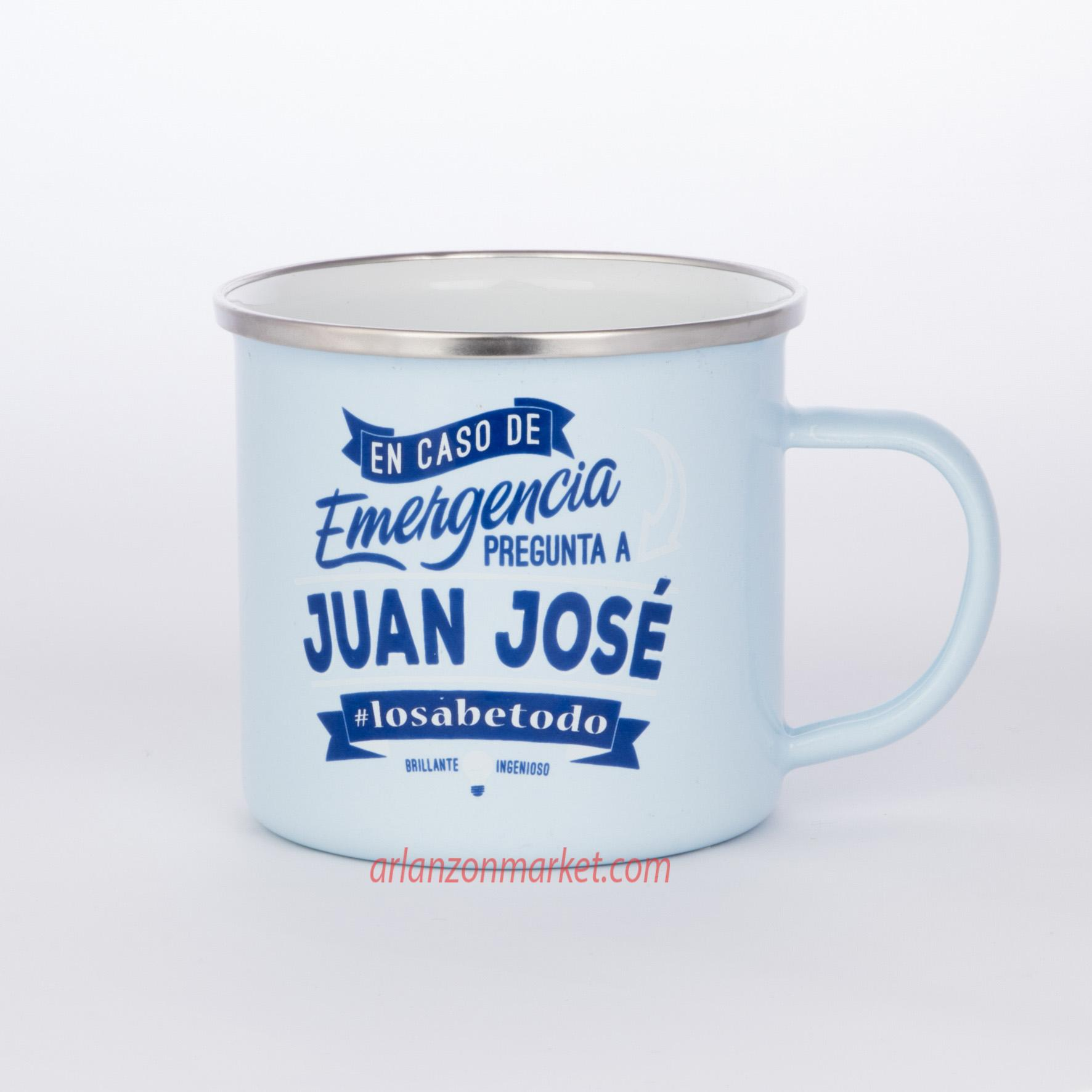 Taza vintage JUAN JOSE