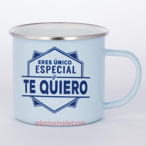 Taza vintage TE QUIERO