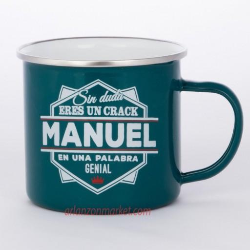 Taza vintage MANUEL
