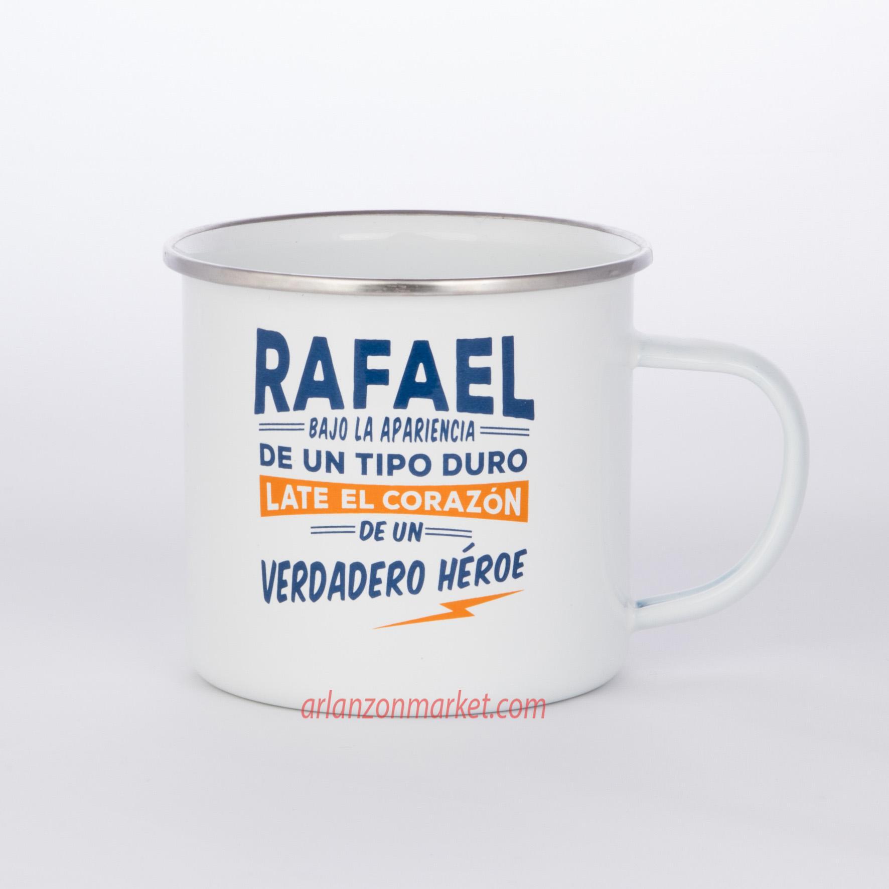 Taza vintage RAFAEL