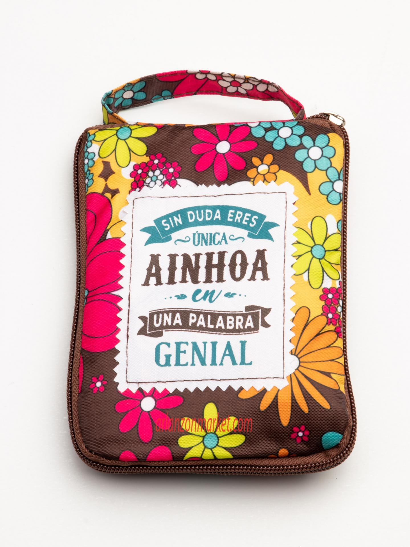 Bolsa con mensaje AINHOA