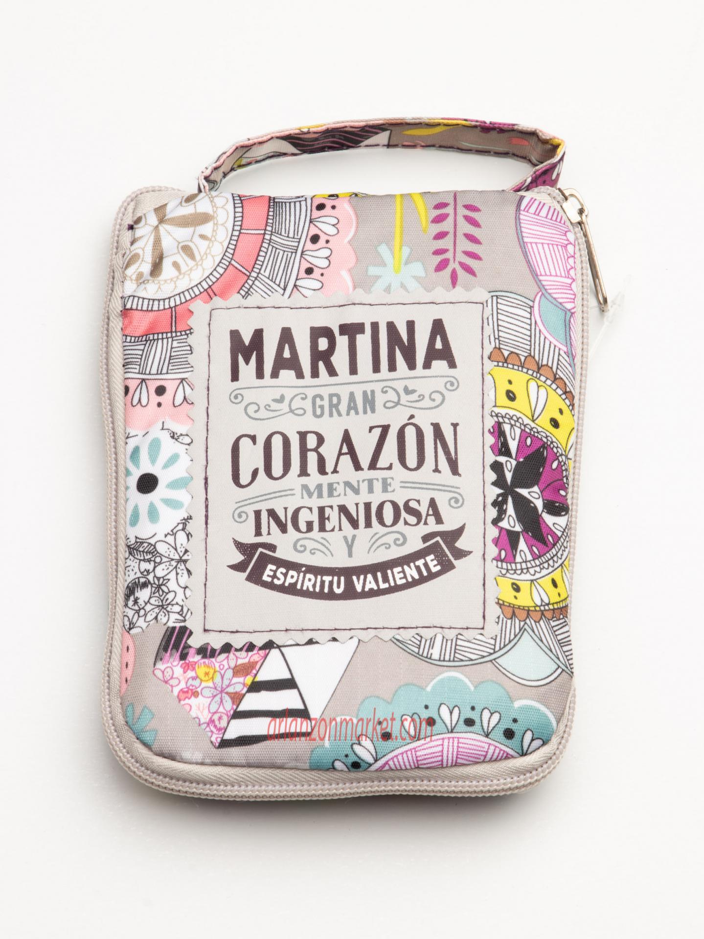 Bolsa con mensaje  MARTINA