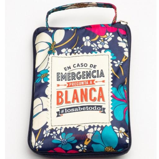 Bolsa con mensaje BLANCA [0]