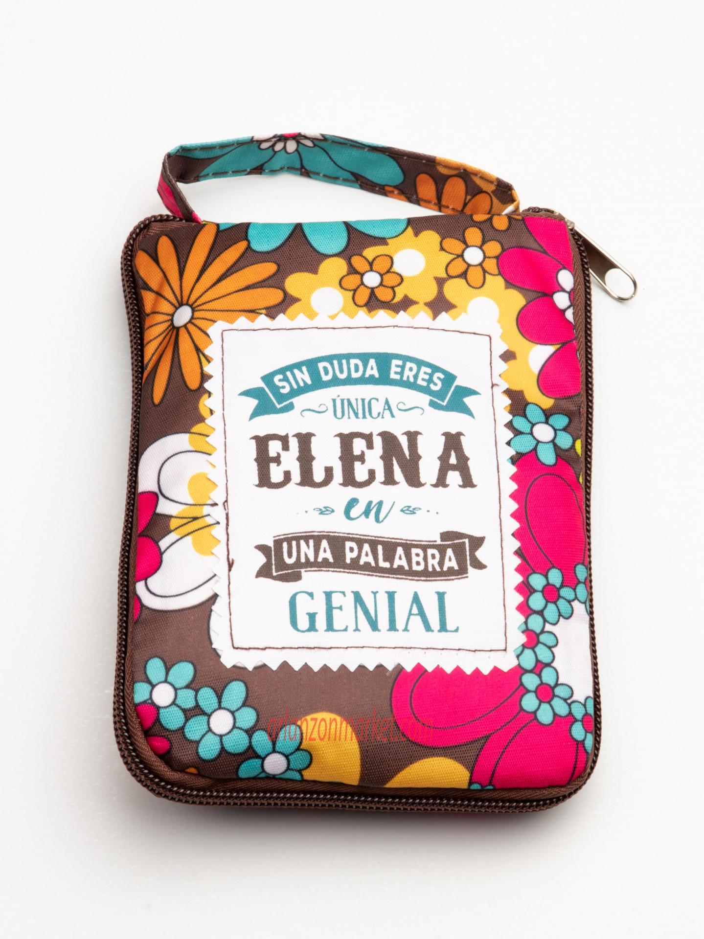 Bolsa con mensaje ELENA