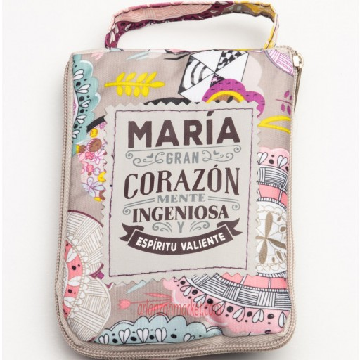 Bolsa con mensaje MARIA