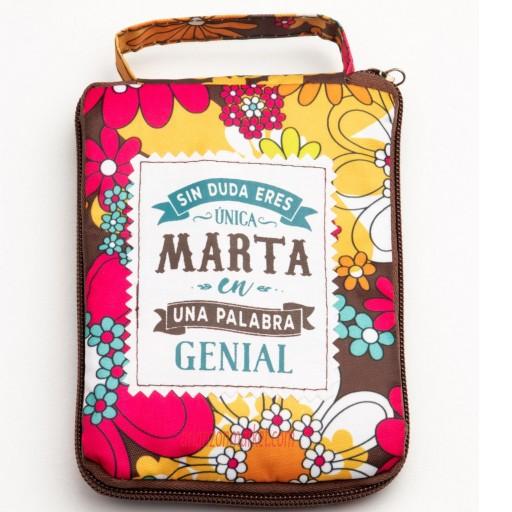 Bolsa con mensaje MARTA