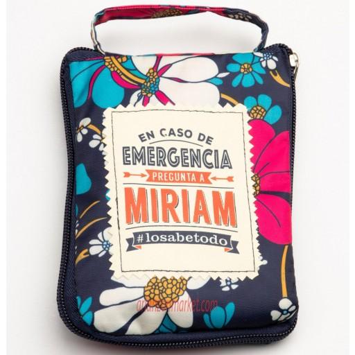 Bolsa con mensaje MIRIAM