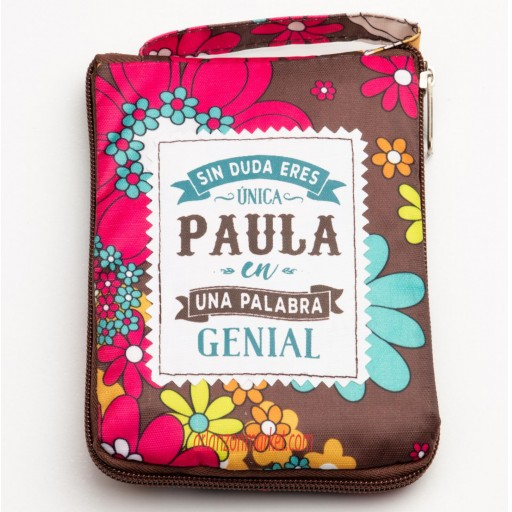 Bolsa con mensaje PAULA