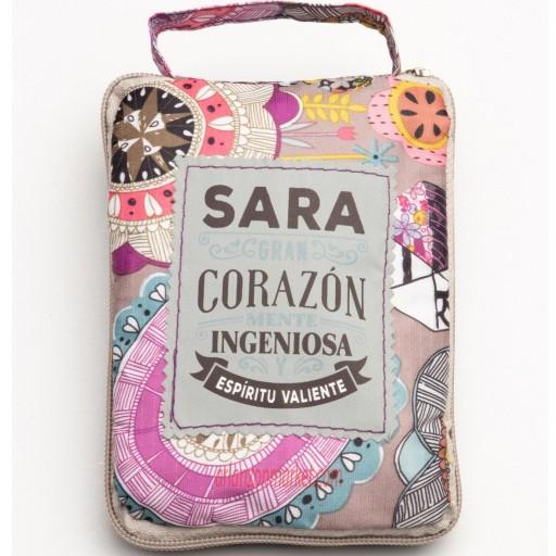 Bolsa con mensaje  SARA