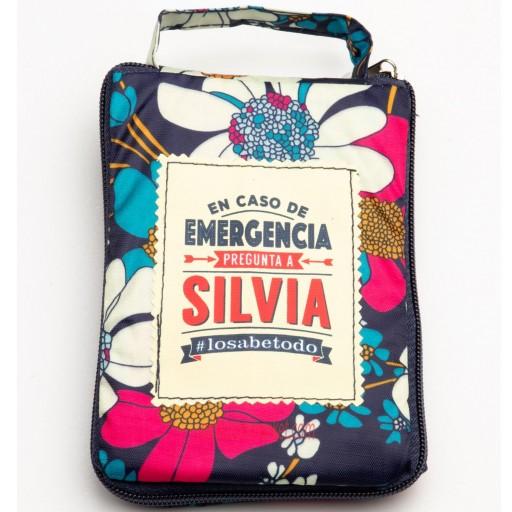 Bolsa con mensaje SILVIA