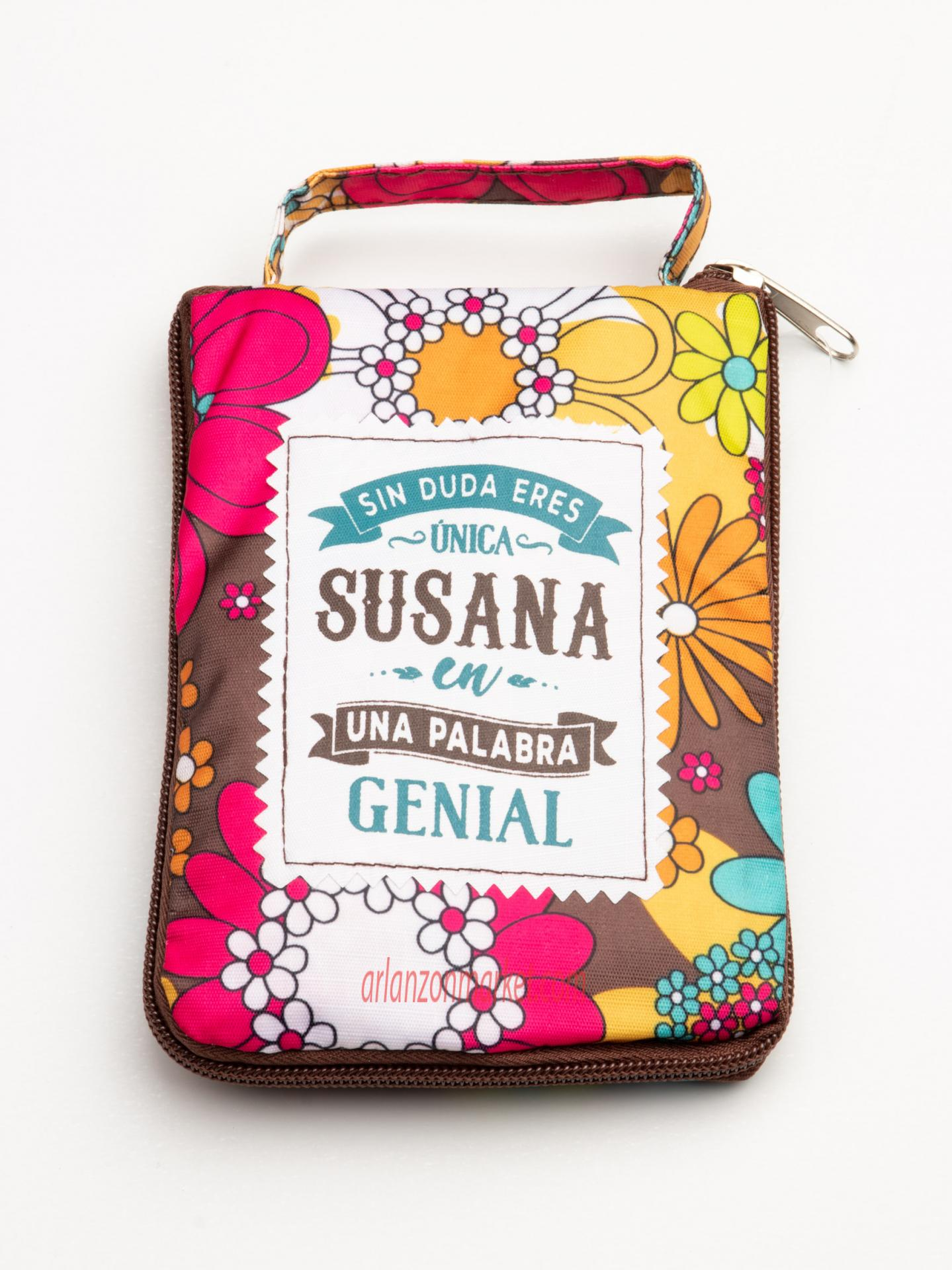 Bolsa con mensaje SUSANA