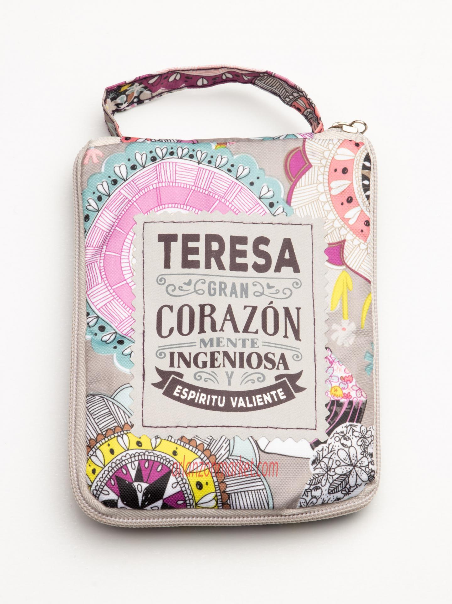 Bolsa con mensaje  TERESA